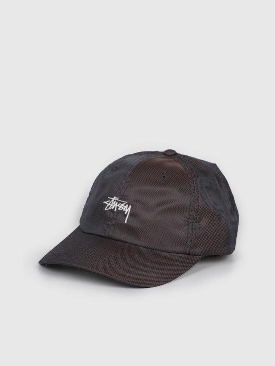 Stussy Diamond Ripstop Low Pro Cap Black 131927