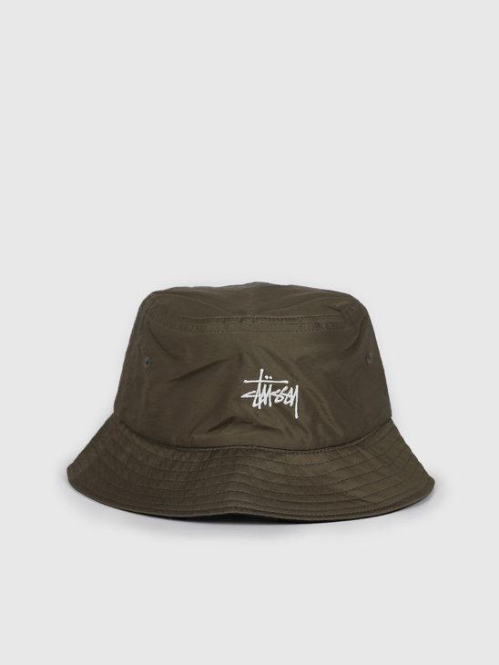 Stussy Reversible Bucket Hat Green 132975