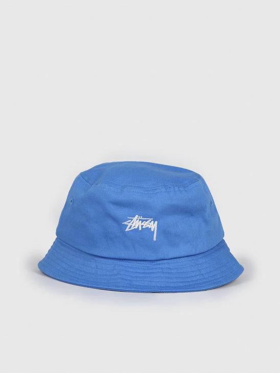Stussy Stock Bucket Hat Blue 132974