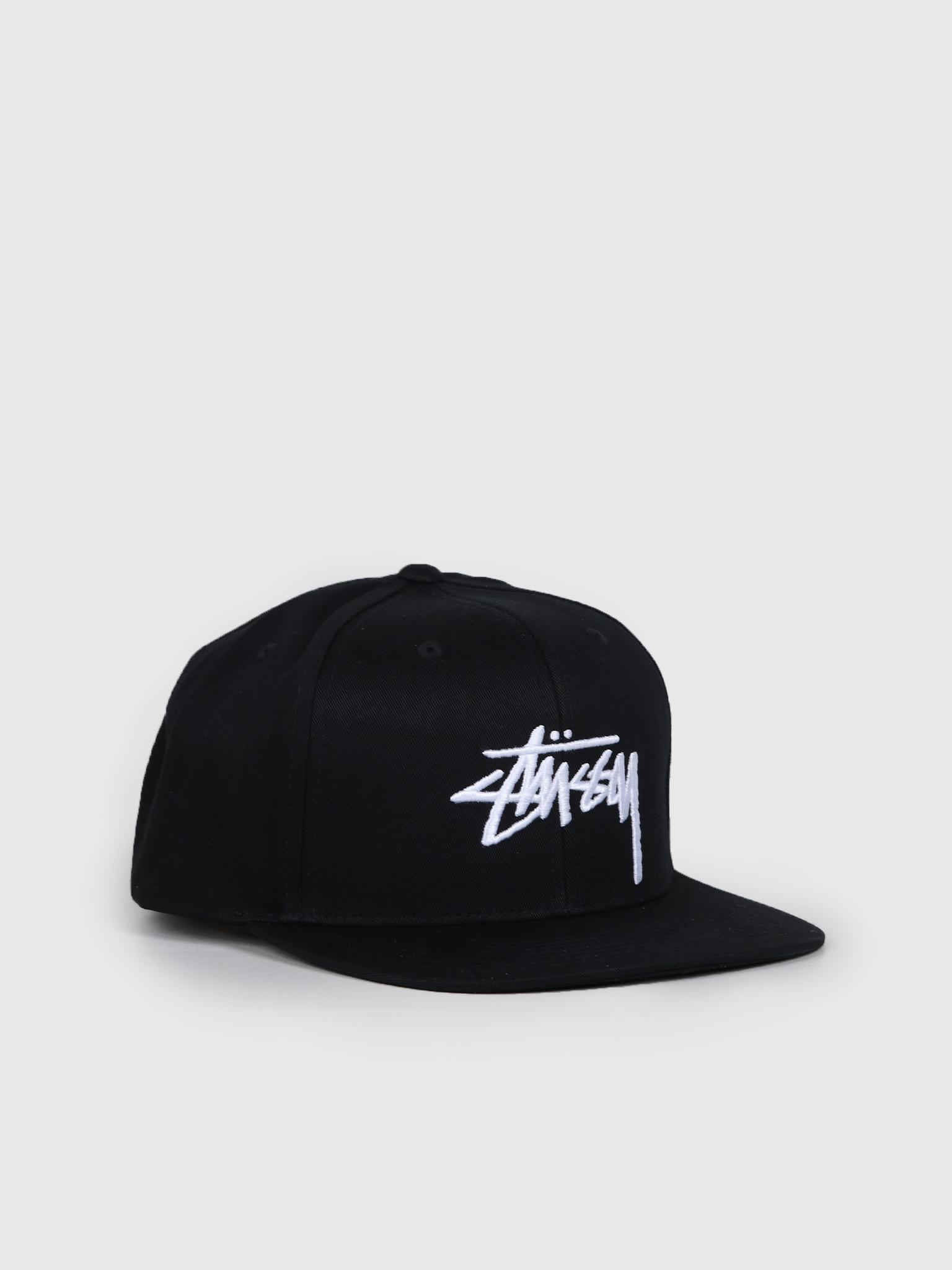 Stussy Stussy Stock Cap Black 131934