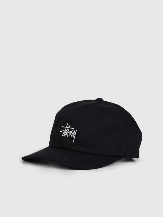 Stussy Stock Low Pro Cap Black 131931
