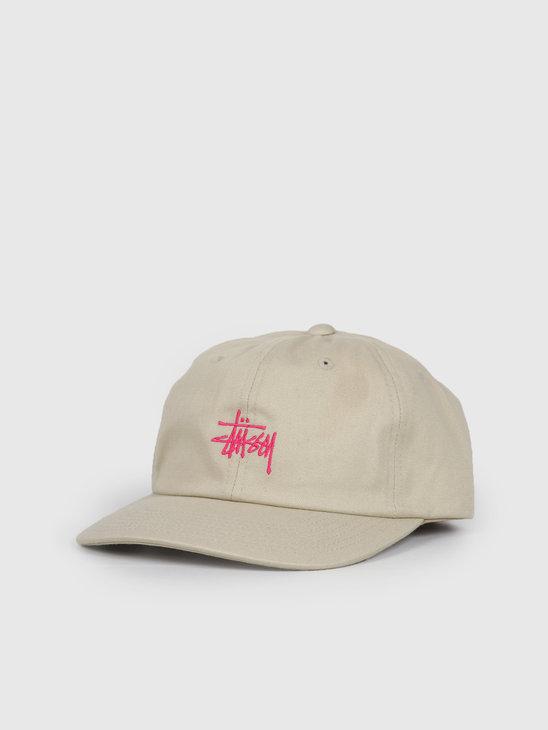 Stussy Stock Low Pro Cap Khaki 131931