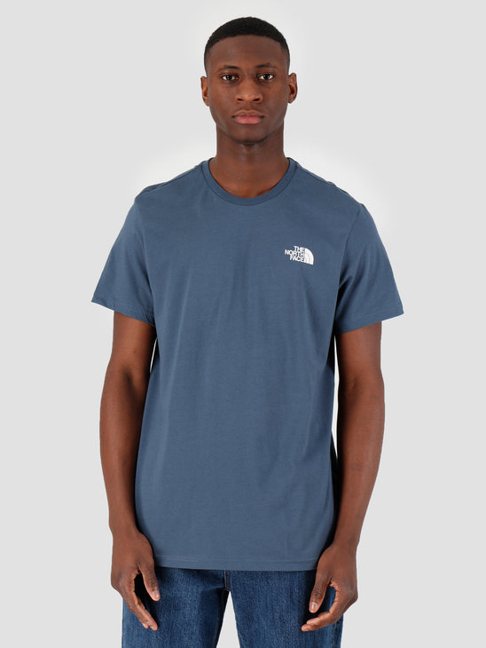 The North Face Short Sleeve Simple Dome Tee Blue Wing Teal NF0A2TX5N4L1