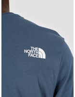 The North Face The North Face Short Sleeve Simple Dome Tee Blue Wing Teal NF0A2TX5N4L1