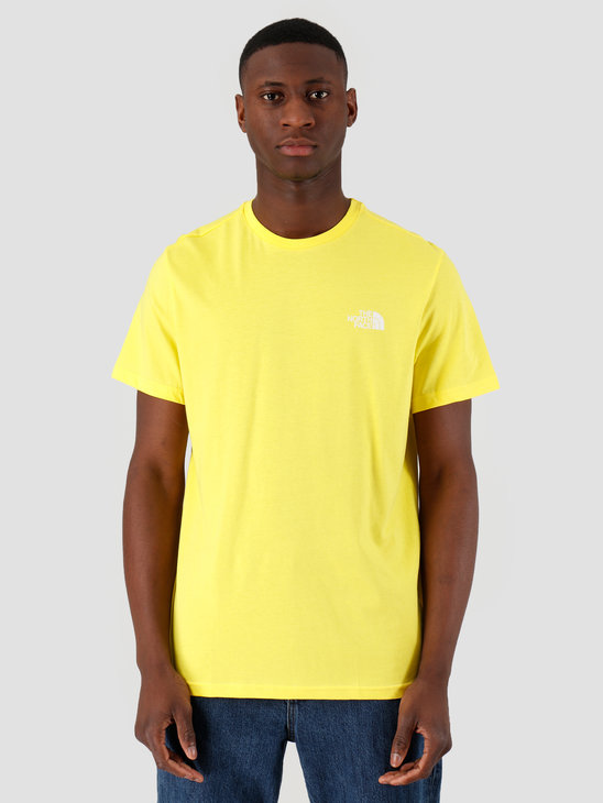 The North Face Short Sleeve Simple Dome Tee TNF Lemon NF0A2TX5DW91