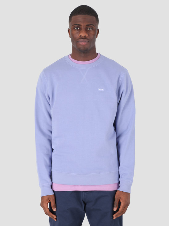 Quality Blanks QB94 Patch Logo Crewneck Lavender