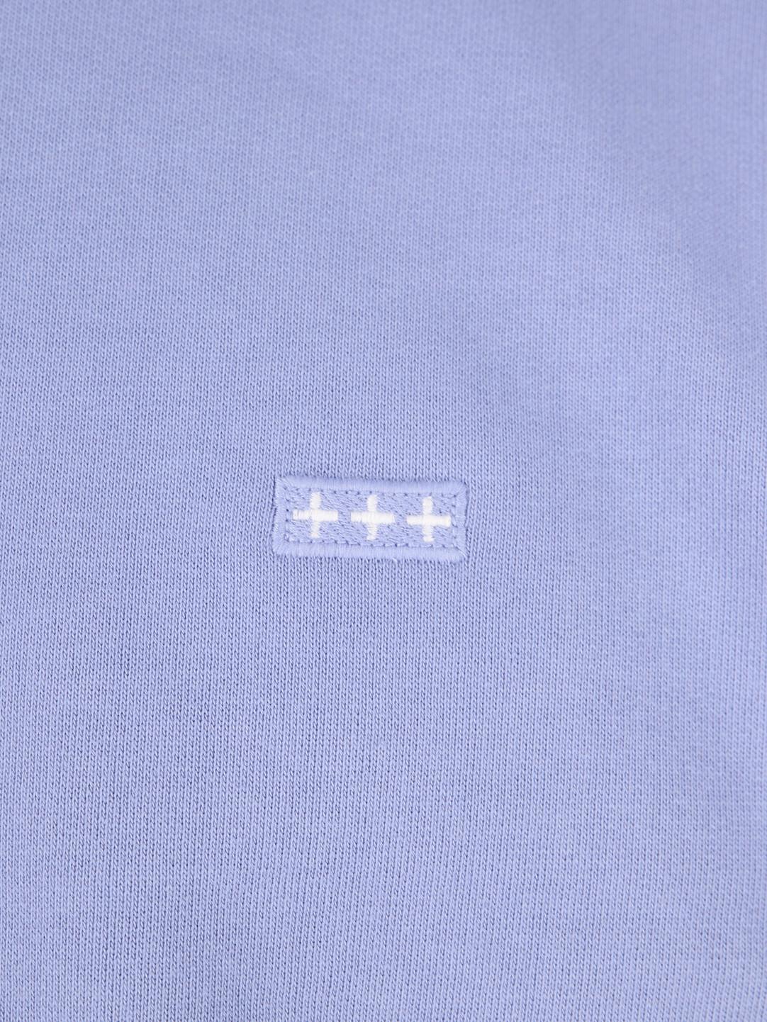 Quality Blanks Quality Blanks QB94 Patch Logo Crewneck Lavender