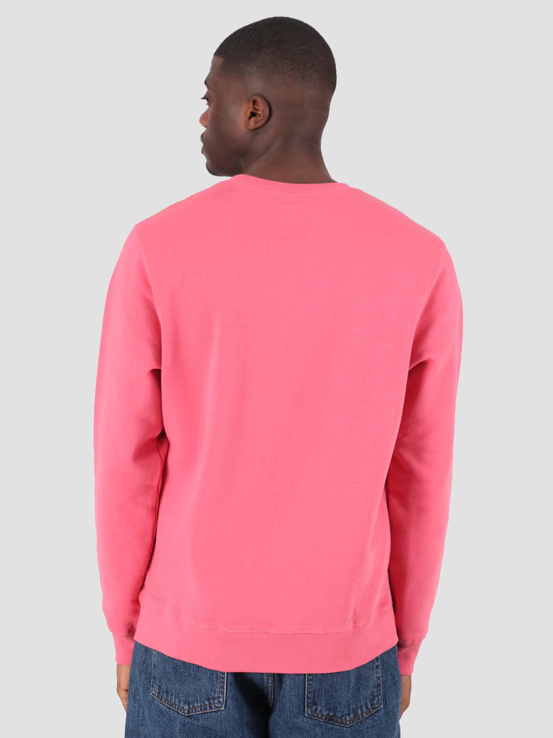 Quality Blanks Quality Blanks QB94 Patch Logo Crewneck Raspberry