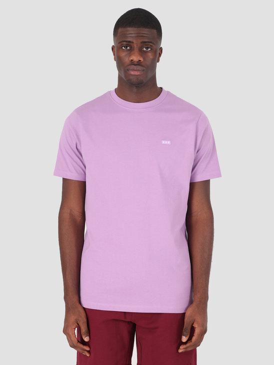 Quality Blanks QB03 Patch Logo T-shirt Dusty Grape