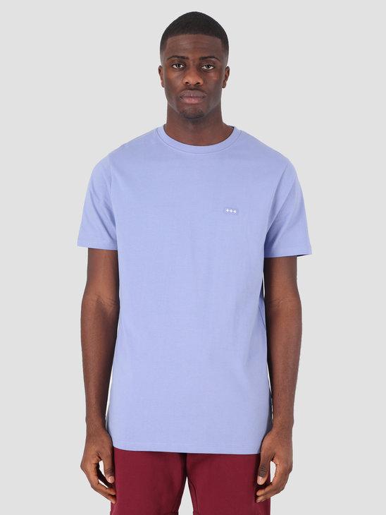 Quality Blanks QB03 Patch Logo T-shirt Lavender