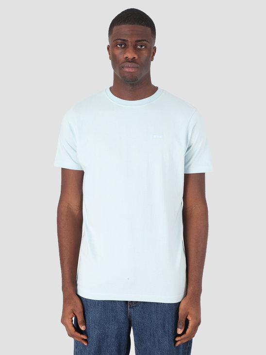 Quality Blanks QB03 Patch Logo T-shirt Sky Blue