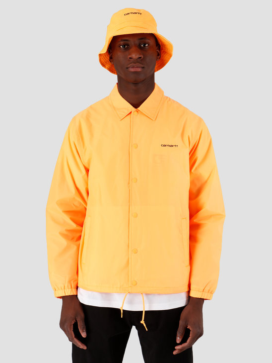 Carhartt WIP Carhartt Script Coach Jacket Pop Orange Black I027784-09G90