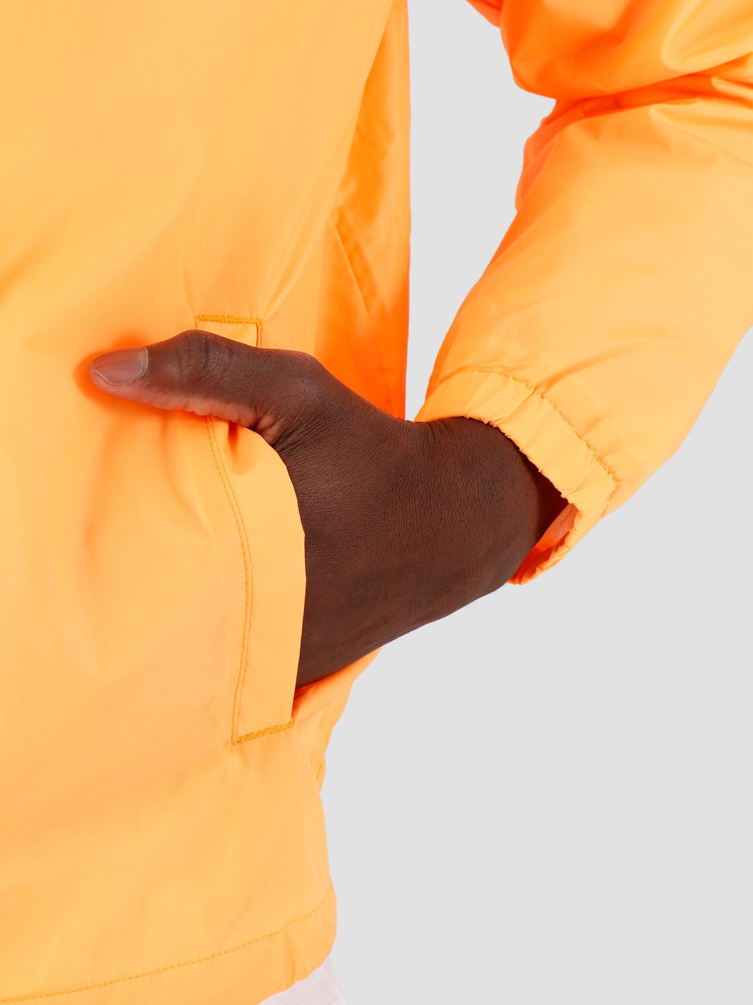 Carhartt WIP Carhartt Script Coach Jacket Pop Orange Black ...
