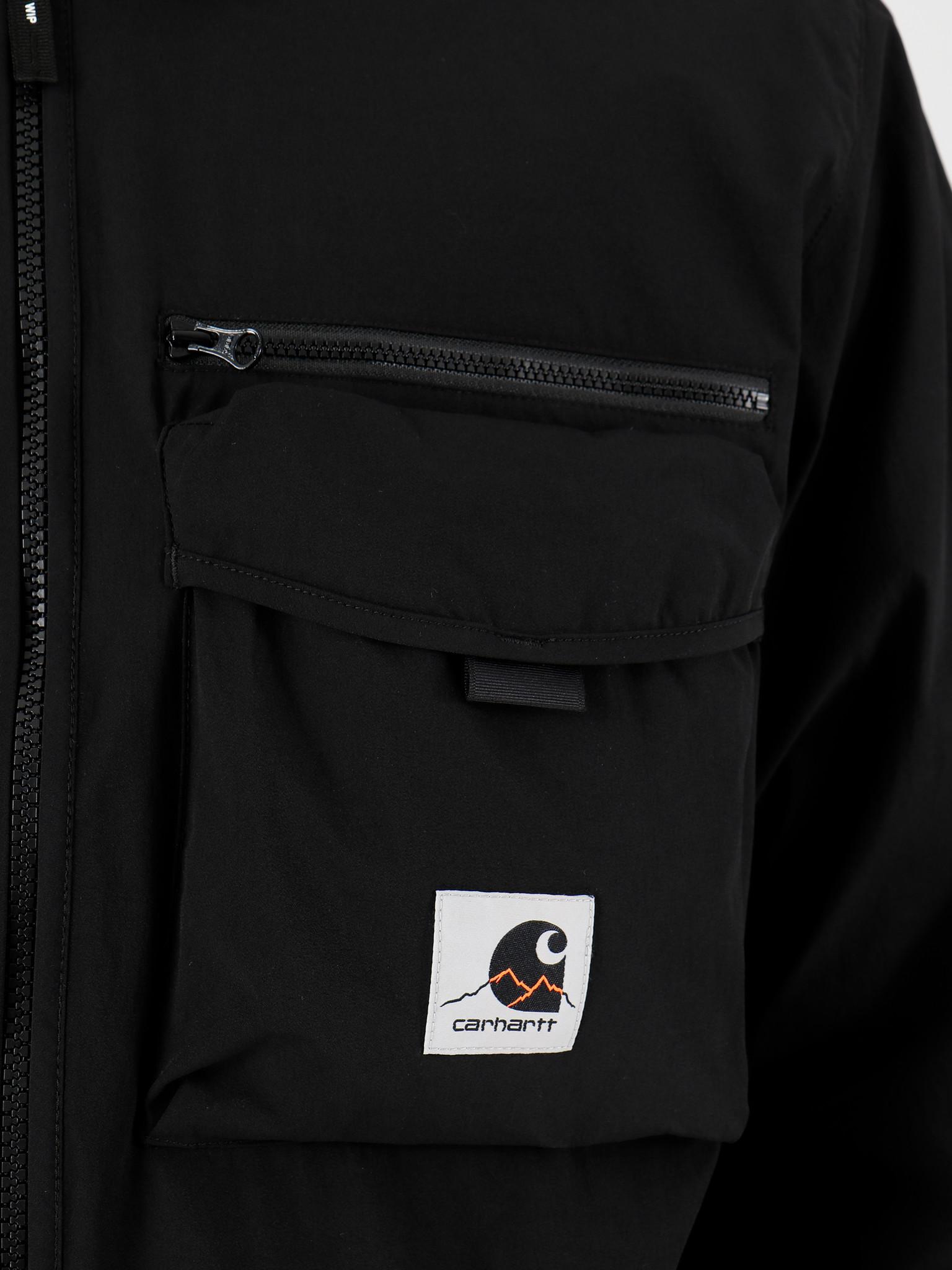 Carhartt WIP Carhartt WIP Hayes Shirt Jac Black I027509-8900