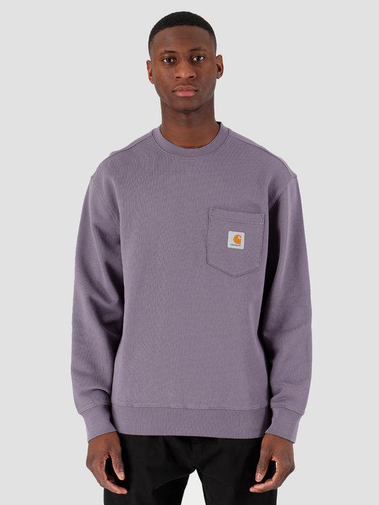Carhartt WIP Pocket Sweat Decent Purple I027681-08X00
