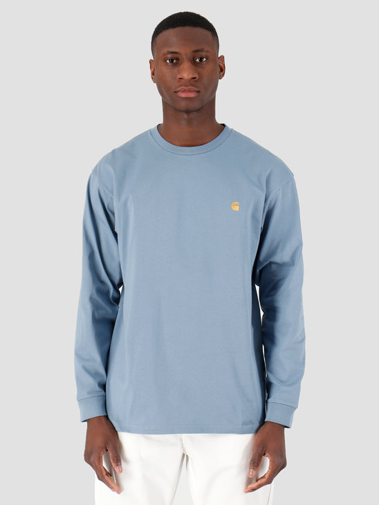 Carhartt WIP Chase T-Shirt Mossa Gold I026392-08S90