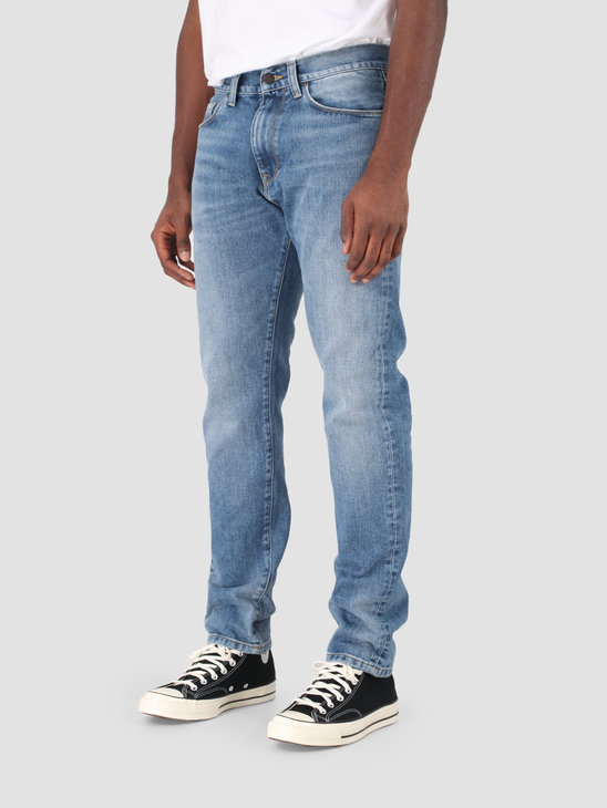 Carhartt WIP Vicious Pant Blue Worn Bleached I027230-01WJ