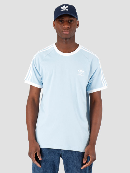 adidas 3-Stripes Tee  Clear Sky FM3773
