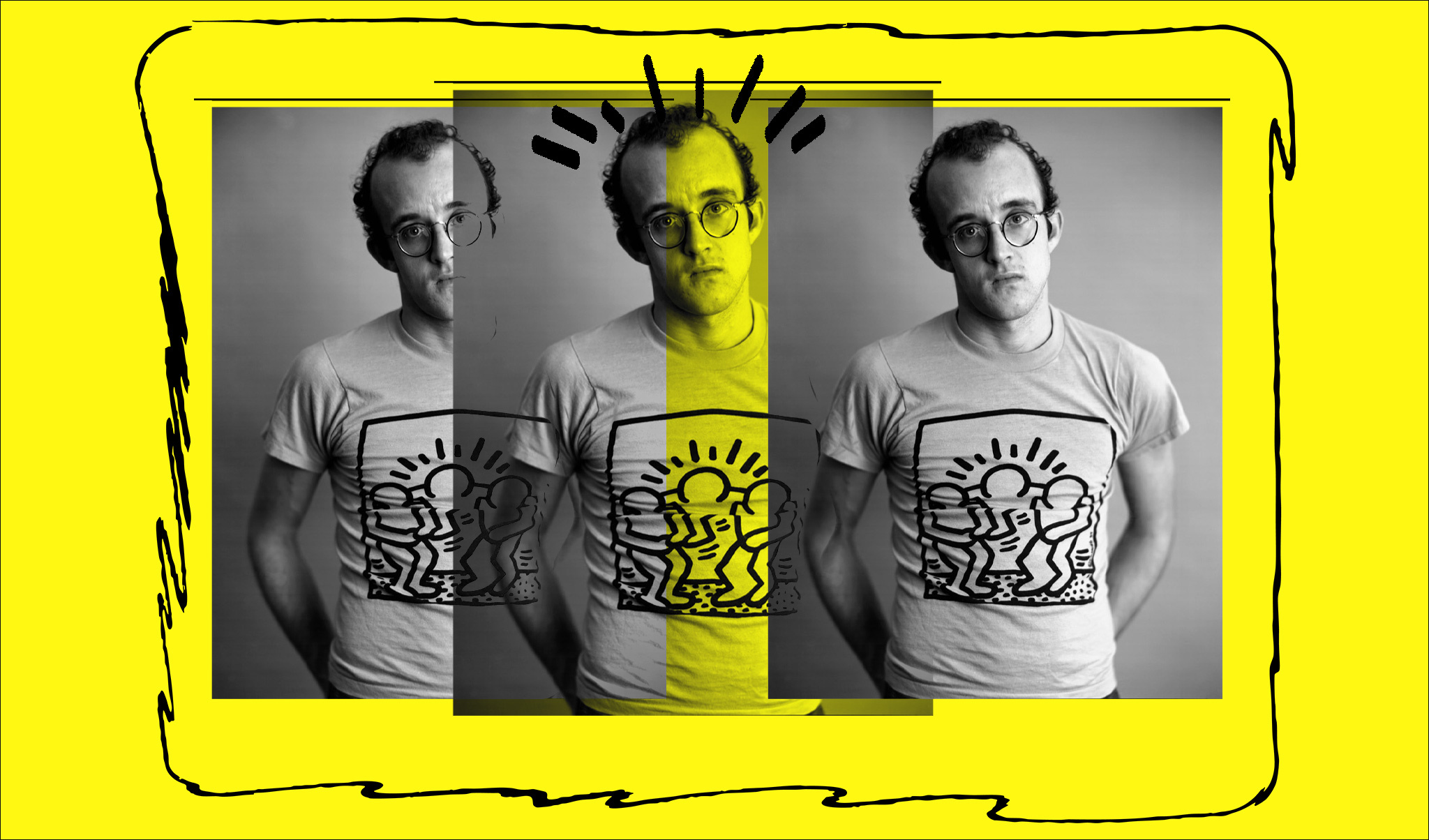 TRIBUTE: Keith Haring