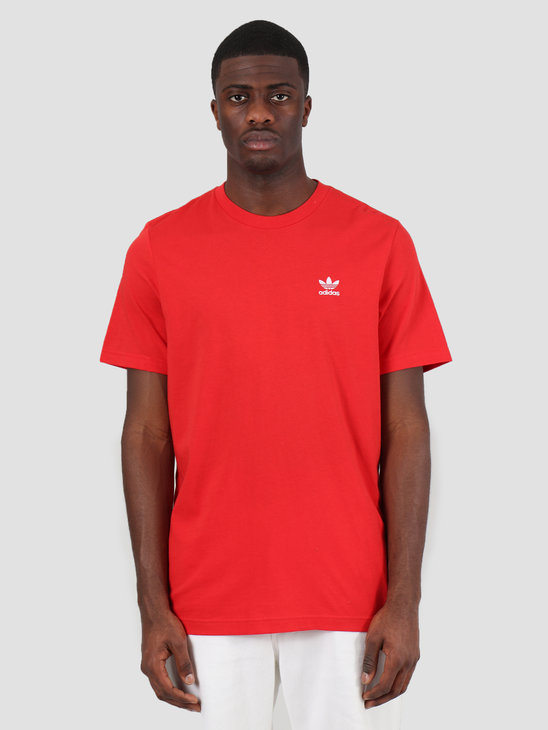 adidas Essential Tee Lush Red FM9968