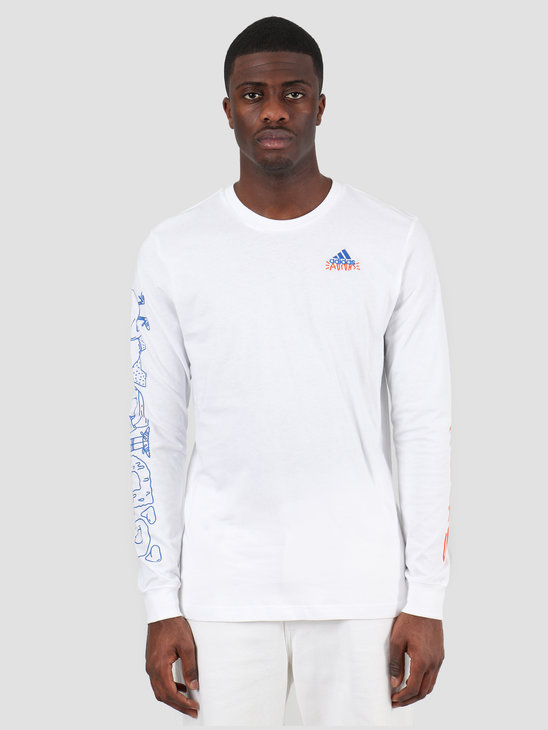 adidas Doodle Lineage Longsleeve White FN1714