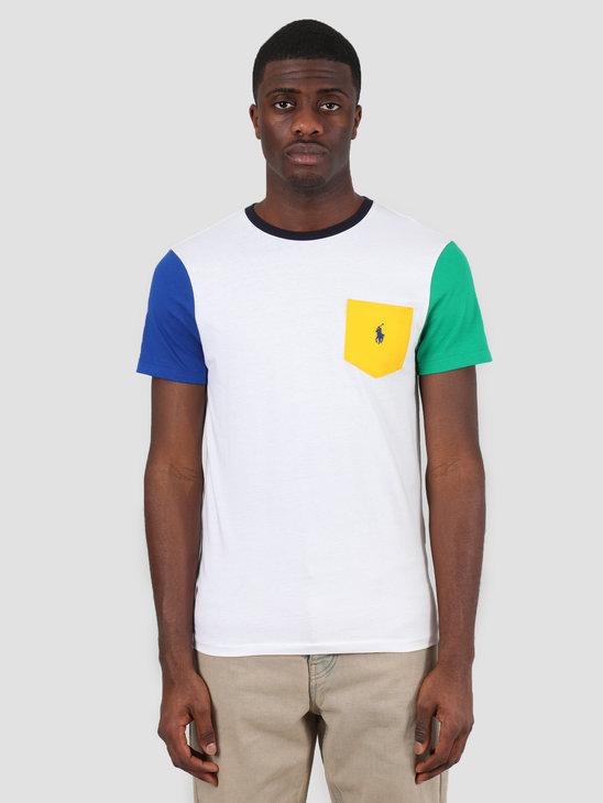 Polo Ralph Lauren 26 1 Jersey T-Shirt White Multi 710740887003