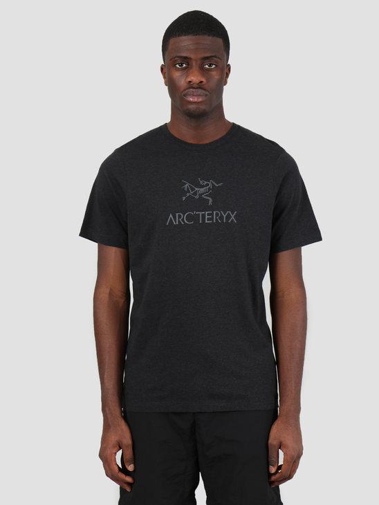 Arc'teryx Arc'Word T-Shirt Black Heather 24013