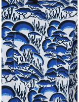 Stussy Stussy Coral Pattern Shirt Blue 1110105