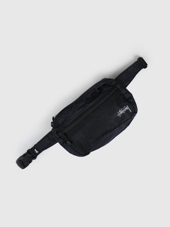 Stussy Light Weight Waist Bag Black 134210