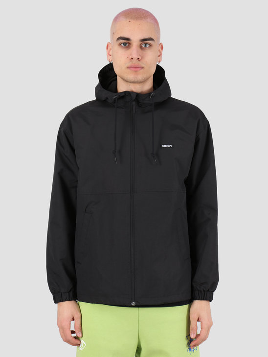 Obey Caption ii jacket Black 121800419 BLK