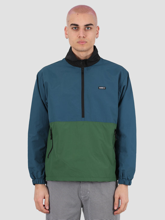 Obey The tucker anorak Sapphire multi 121800408 SAP