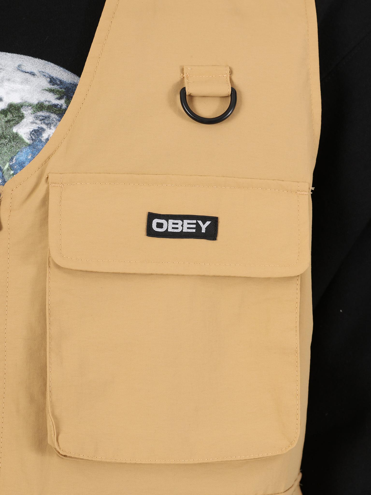 Obey Obey Undertone vest Almond 121810011 ALM