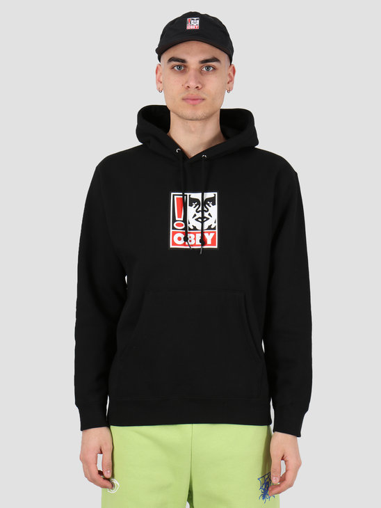 Obey Obey exclamation point Fleece Black 112842250 BLK