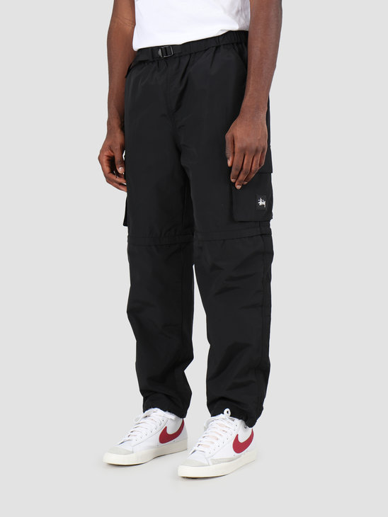Stussy Zip Off Cargo Pant Black 116421