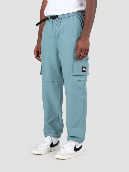 Stussy Zip Off Cargo Pant Teal 116421