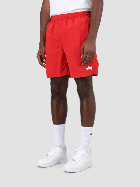 Stussy Stock Water Short Red 113120