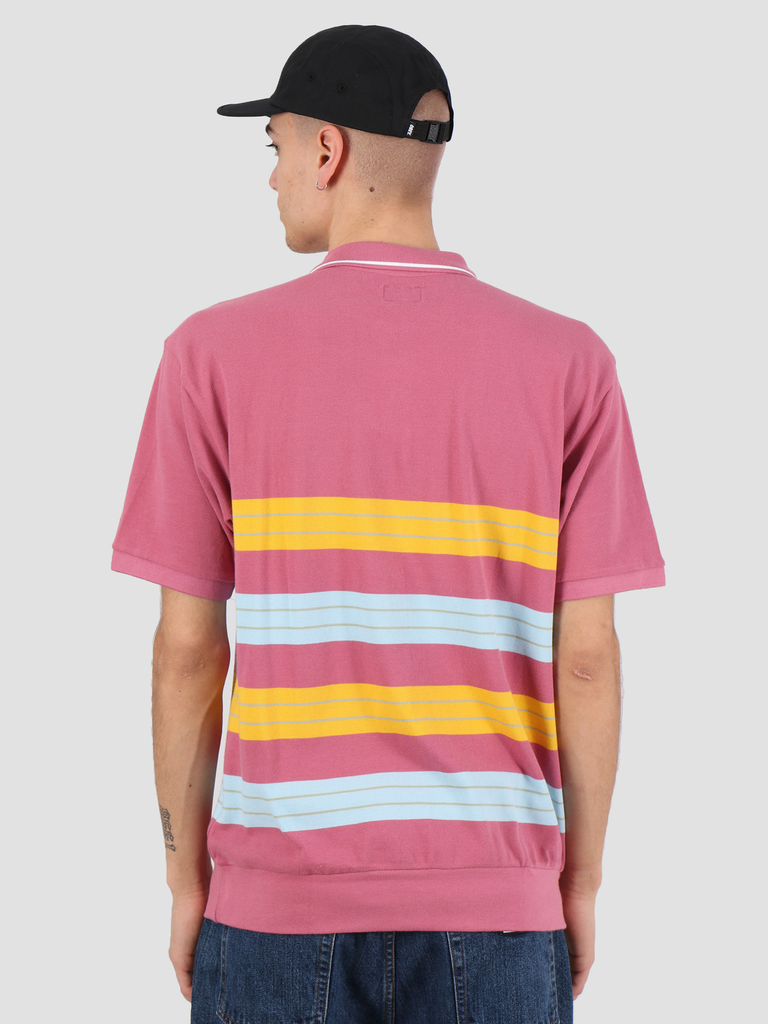 Obey Obey Casa polo ss Cassis multi 131090051 CAS