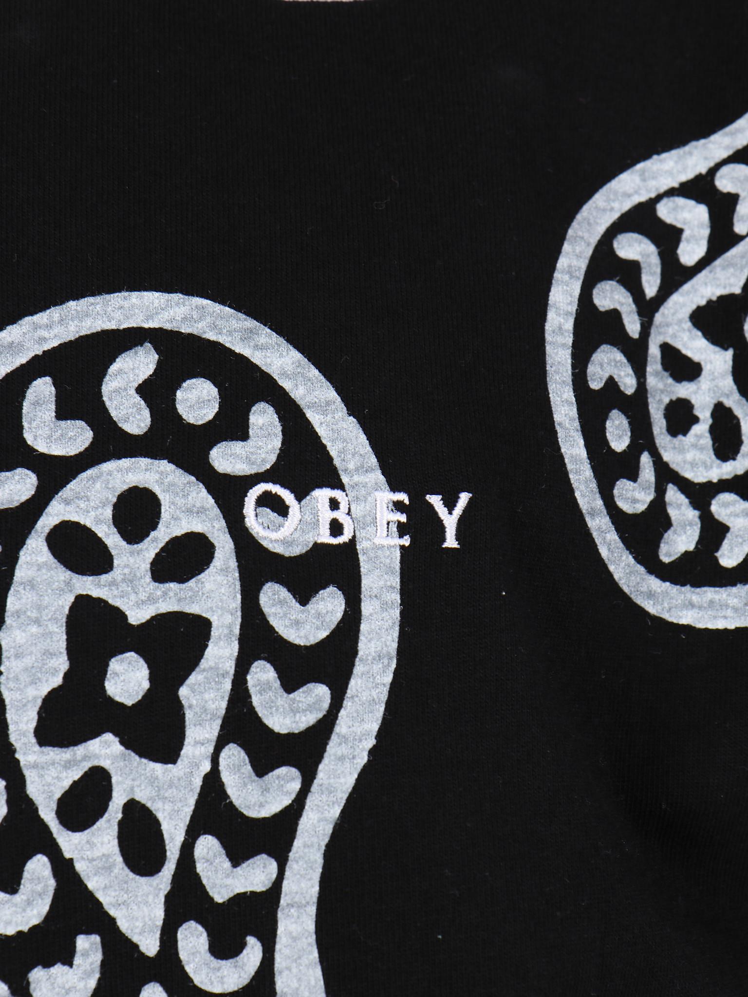 Obey Obey Dealer rugby polo ls Black multi 131040030 BKM