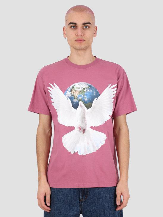 Obey Worldwide peace T-shirt Cassis 166912188 CAS