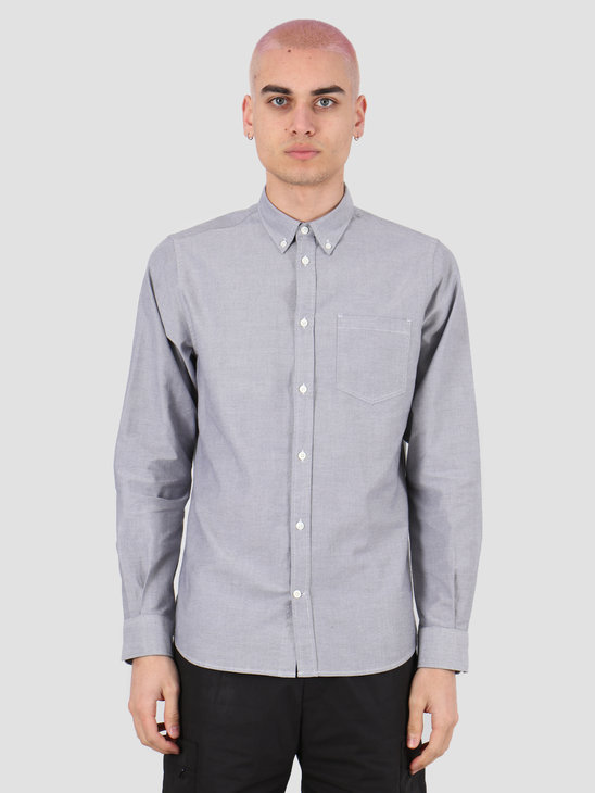 Norse Projects Anton Oxford Shirt Magnet Grey N40-0456-1072