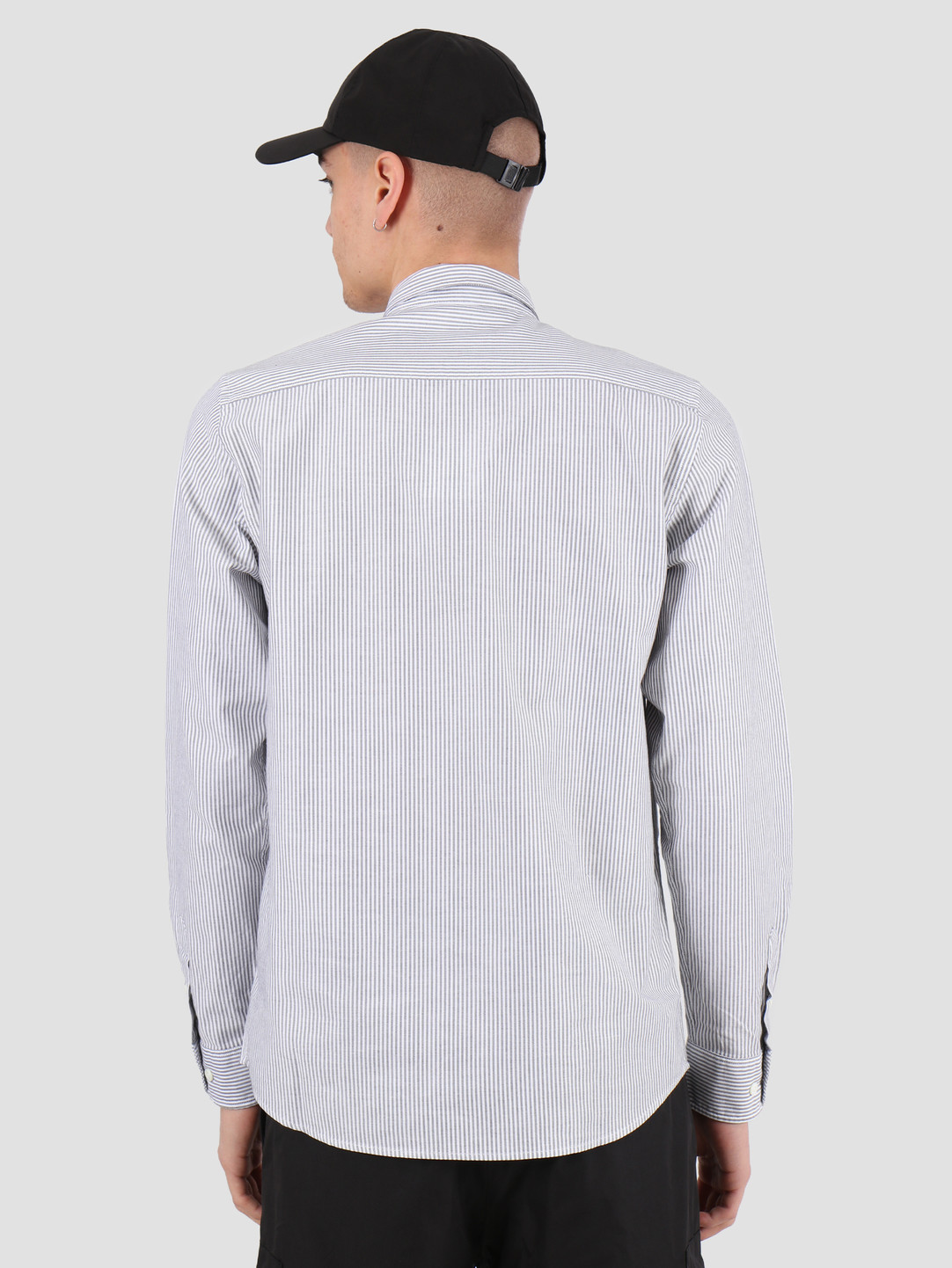Norse Projects Norse Projects Anton Oxford Shirt Magnet Grey Stripe N40-0456-1073