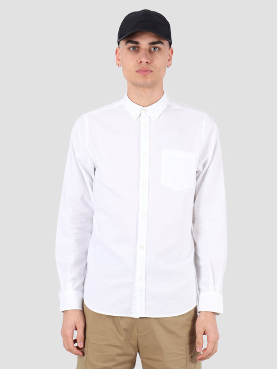 Norse Projects Anton Oxford Shirt White N40-0456-0001