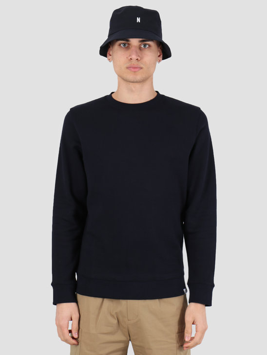 Norse Projects Vagn Classic Crewneck  Dark Navy N20-0261-7004