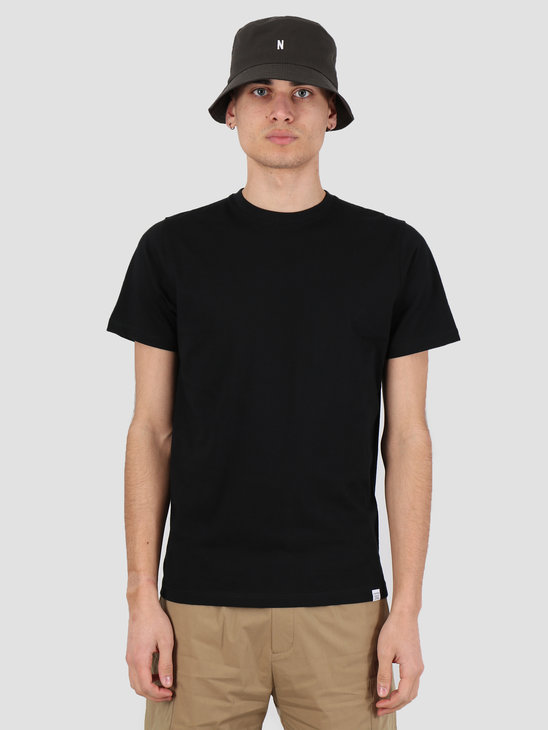 Norse Projects Niels Standard T-shirt Black N01-0362-9999