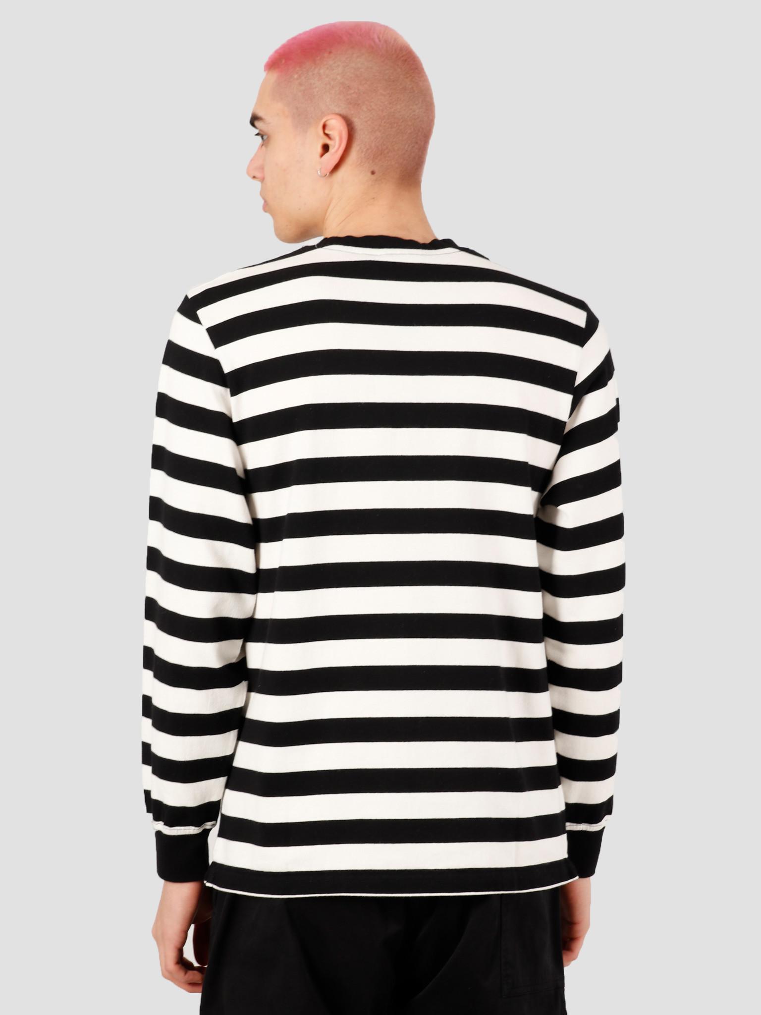by Parra by Parra Block P Striped Longsleeve Stripes 43640