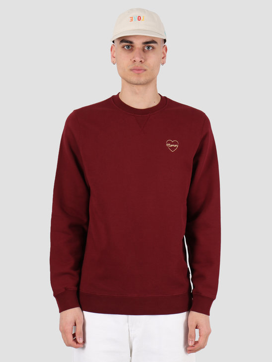 Ceizer Money Crewneck Bordeaux 2020-003