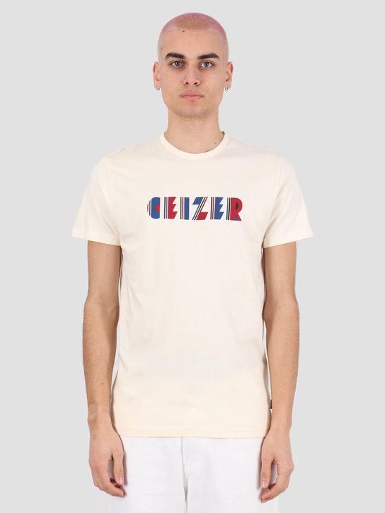 Ceizer Ceizer Retro T-Shirt Creme 2020-006