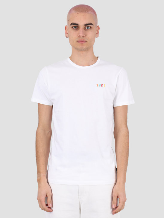 Ceizer Evol Embroidery T-Shirt  White 2020-012