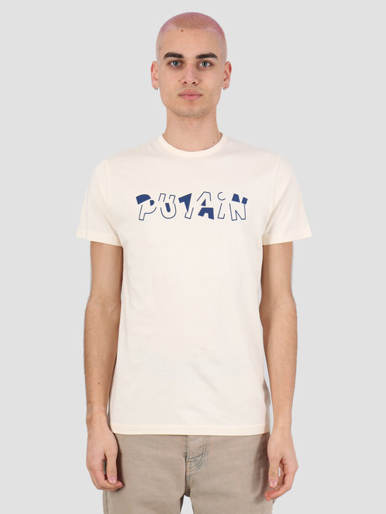 Ceizer Putain T-Shirt Creme 2020-002