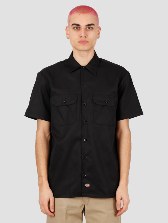 Dickies Short Sleeve Work Shirt Black DK001574BLK1